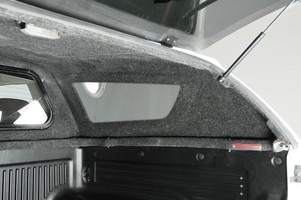 The Snugrug interior of the new Snugtop CK designed for the Toyota Hi Lux Double Cab