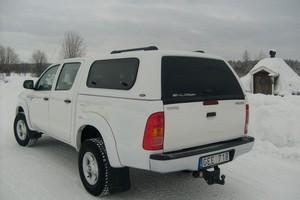 SNugtop Rebel trucktop for the Toyota Hi Lux pick up
