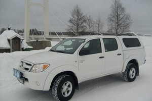 The Snugtop Rebel for the Toyota Hi Lux double cab pick up